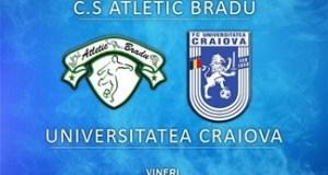 Fotbal : Incepe returul pentru Universitatea Craiova ! Primul adversar C.S. Atletic Bradu .. 13