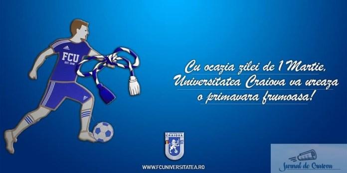 Fotbal : Incepe returul pentru Universitatea Craiova ! Primul adversar C.S. Atletic Bradu .. 2