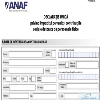 Romanian Software lanseaza o aplicatie online, care ii ajuta pe contribuabili sa isi completeze declaratia unica 1