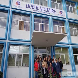 """In perioada 25-29 martie 2019 Liceul Voltaire gazduieste reuniune transnationala in cadrul proiectului """"Educated and Active Citizenship"""" 1"""