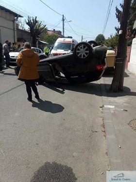 Accident pe strada Vasile Alecsandri ! 1