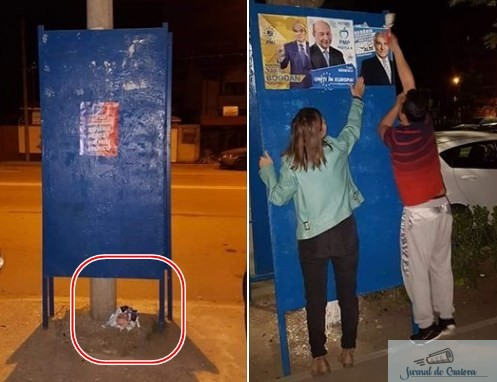 Prima zi de campanie electorala in Craiova a adus si primele probleme .. 2
