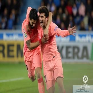Fotbal :  FC Barcelona, neinvinsa de 22 de etape in LaLiga. 1