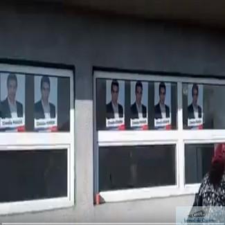 Campanie electorala PSD la Cetate pe cladiri luate din fonduri europene! 1