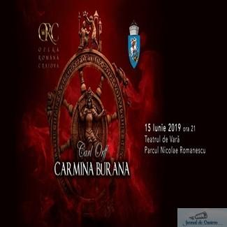 Opera Romana Craiova : Spectacolul Carmina Burana, sambata seara, in Parcul Nicolae Romanescu 1