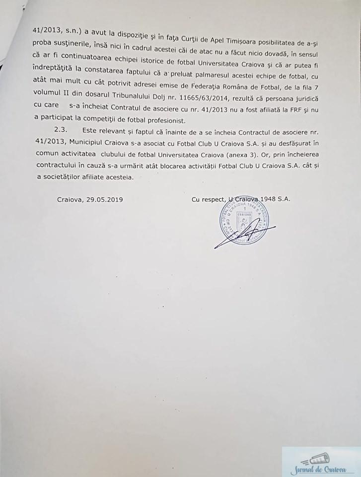 Primaria Craiova in faliment ! Genoiu nu vrea sa lase Universitatea Craiova pe stadion! 4