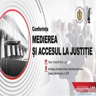 Medierea si Accesul la Justitie 1