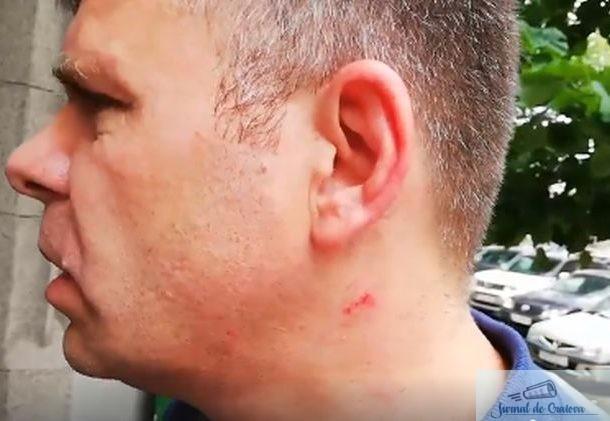 Malin Bot, batut chiar in sediul Judecatoriei de unul dintre jandarmii din 10 august 2