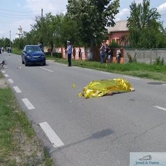 DN 68 blocat timp de 3 ore pentru cercetarea la fata locului a unui accident rutier 1