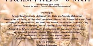 FESTIVALUL DE DATINI SI OBICEIURI TRADITIILE VERII - Editia a VIII-a 19 iulie 2019