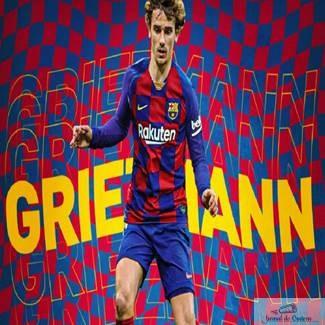 Fotbal : Antoine Griezmann este noul jucator al echipei FC Barcelona