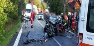 Accident grav pe Valea Oltului: traficul este blocat total !
