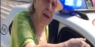 Video : O femeie de 81 de ani, amendata pentru ca mergea prea incet!