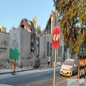 Telefonul Cetateanului - fara nici un efect la demolarea Liceului Sanitar !
