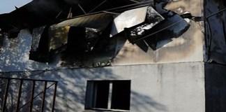 Incendiu la un depozit din apropiere de Isalnita