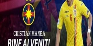 Fotbal : Becali si-a luat fundas stanga de nationala! Cristian Manea a semnat cu FCSB