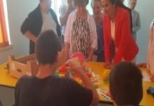 Sorina Pintea ,ministrul Sanatatii aflat in vizita la Spitalului de Psihiatrie Poiana Mare
