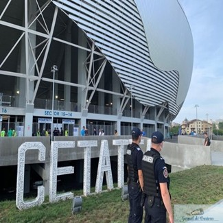 Masuri de ordine publica pe stadionul Ion Oblemenco la partida Universitatea CRAIOVA– Universitatea CLUJ