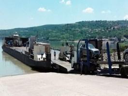Traversarea cu feribotul, intrerupta temporar prin P.T.F. Bechet