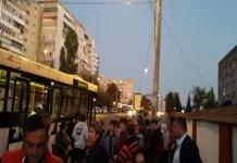 "A inceput de ieri sa cada ... si autobuzele ""noi"" in Craiova"