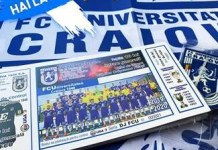 Fotbal : Universitatea Craiova pune in vanzare bilete pentru partida cu Crisul Chisineu Cris care are loc la Filiasi