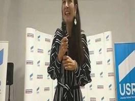"""Clotilde Armand a participat azi la dezbaterea """"Rolul Presedintelui, despre UE, despre Romania, despre noi"""""""