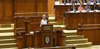 Motiunea de cenzura, citita, astazi, in plenul reunit al Parlamentului. Dezbaterea si votul vor avea loc saptamana viitoare, tot joi
