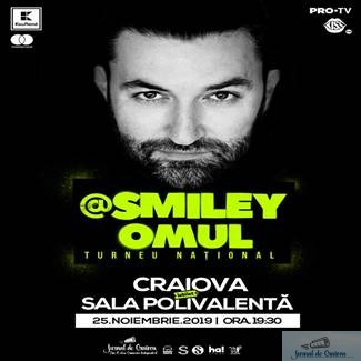 Smiley ii ia pe Emilian, Jean Gavril si 7 Klase in concertele de deschidere din turneul @Smiley_Omul