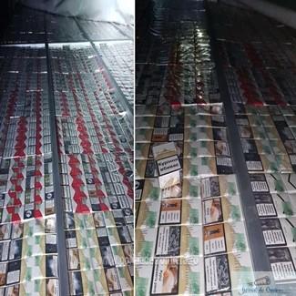3,4 milioane de pachete cu tigari de contrabanda, confiscate de politistii de frontiera in primele noua luni ale anului 2019