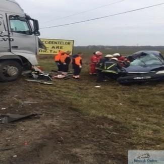 Accident mortal la intrare in Pielesti