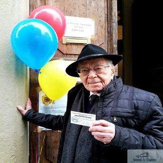 Mihai Sora la 103 ani ii cheama pe romani la vot. Filosoful voteaza Iohannis. Dancila ne scoate din Europa