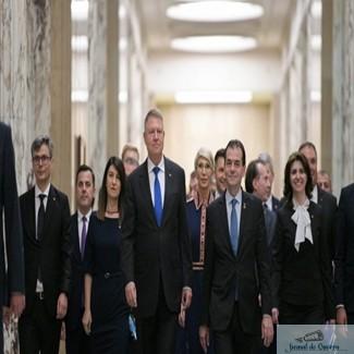 Noul Guvern a depus juramantul ! Ludovic Orban: Domnule presedinte, incepand de astazi aveti un partener in Guvern!