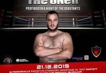 Box / Alex Gabroveanu : Ca rezultatele sa fie maxime este nevoie de multa munca si perseverenta
