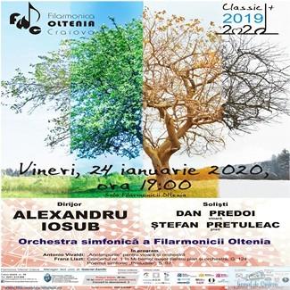 Anotimpurile de Vivaldi la Filarmonica Oltenia Craiova