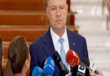 Klaus Iohannis: Voi cere Parlamentului sesiune extraordinara pentru alegerea primarilor in doua tururi