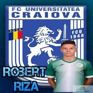 Fotbal : Robert Riza este primul transfer al echipei Universitatea Craiova din acest an ..