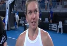 Tenis : Simona Halep castiga primul meci din 2020 si se califica in sferturile de finala de la Adelaide