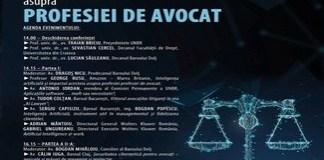 Conferinta IMPACTUL NOILOR TEHNOLOGII ASUPRA PROFESIEI DE AVOCAT la Facultatea de Drept