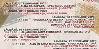 Week-end cu povesti, la Teatrul Colibri Craiova