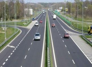 Drumul Expres Craiova - Pitești - Imagini din dronă cu tronsonul unde românii de la UMB lucrează în forță