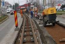 """Lansare proiect """"Modernizarea căii de tramvai (în cale proprie) de pe Calea Severinului, în zona industrială Cernele de Sus – Faza 1 şi Modernizarea căii de tramvai (în cale proprie) de pe Calea Severinului, în zona industrială Cernele de Sus – Faza 2"""""""