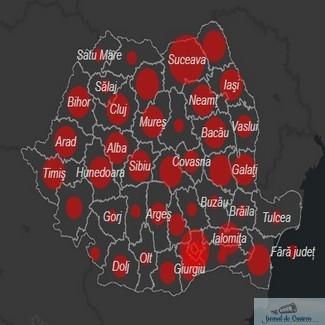 Coronavirus Romania, bilant oficial. Peste 16.704 de imbolnaviri. In judetul Dolj au fost raportate 162 de cazuri persoane confirmate pozitiv