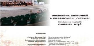 """Filarmonica """"Oltenia"""" Craiova - Invitație la concert în aer liber"""