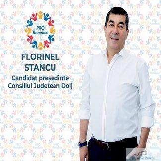 Deputatul Florinel Stancu a anuntat printr-o postare pe facebook, candidatura la functia de presedinte al Consiliul Judetean Dolj din partea partidului Pro Romania