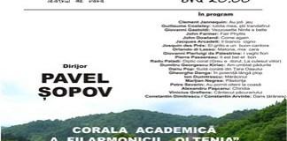Filarmonica Oltenia Craiova : MADRIGALE si PRELUCRARI FOLCLORICE in Parcul Romanescu