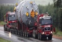 Transport agabaritic pe ruta Calafat Pod PTF – Podari