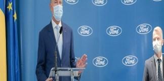 Presedintele Romaniei , Klaus Iohannis dupa vizita la Uzina Ford din Craiova : Ford este un semnal foarte bun pentru locația economică Craiova