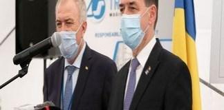 Participarea premierului Ludovic Orban la evenimentul prilejuit de inaugurarea tronsonului de conductă Craiova-Segarcea, aferent etapei I din conducta de transport Craiova-Segarcea-Calafat