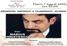 Filarmonica Oltenia Craiova : Concert Rossini/Mozart in Parcul Romanescu