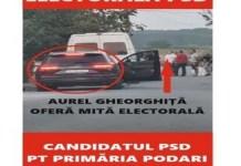 Mita Electorala in Podari! Candidatul PSD apeleaza la orice pentru a obtine voturi .. Directoarea scolii tine evidenta locuitorilor ..